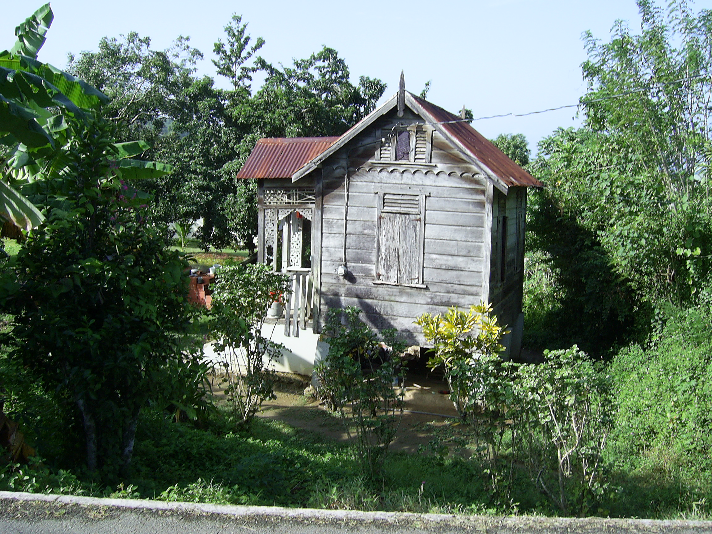A typical Tobagen (is it gen or gon) house
